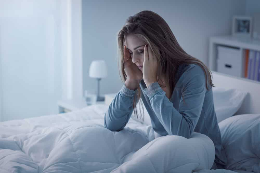 Insomnia is defined as a difficulty falling asleep or staying asleep, even when a person is exhausted and has otherwise good sleep conditions. Insomnia often leads to dissatisfaction with sleep