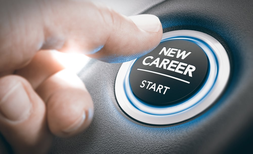 New Career, Career changes can be a daunting and overwhelming journey for anyone