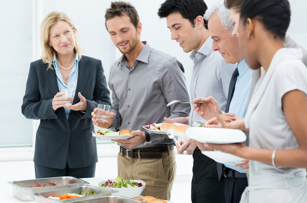 Capitalize on lunch and dinner meetings