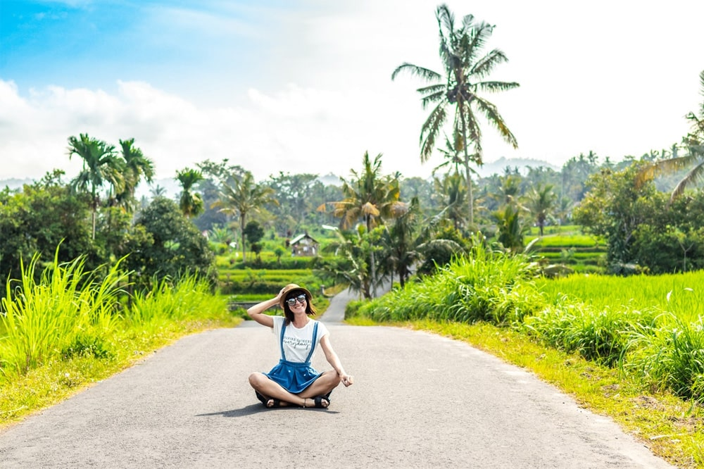 Visiting Bali would definitely be good for your yoga mat