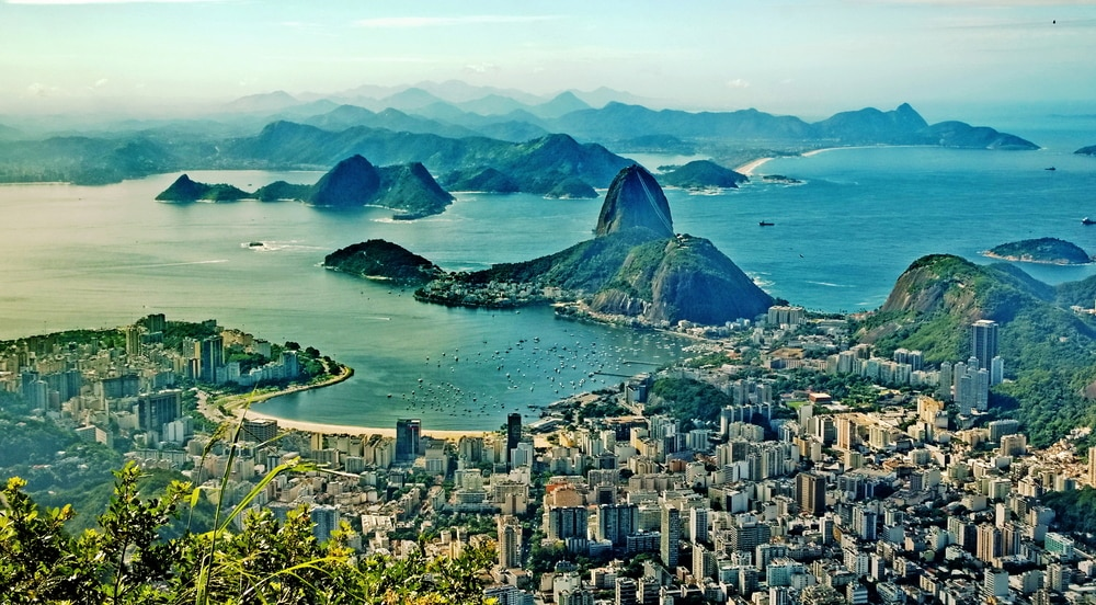 Brazil is nearly head-to-head with Colombia with its fairly affordable financial investment for residency program.