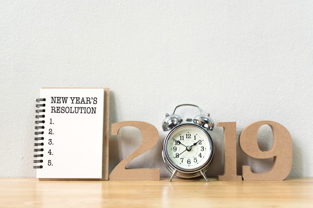 5 Popular New Year's Resolutions For 2019
