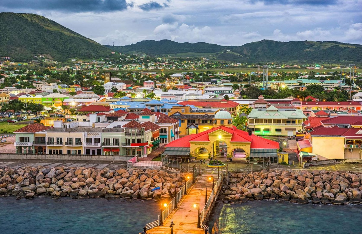 A lazy retirement in stunning Saint Kitts and Nevis could be yours if you have $400,000 (£300k) to spend on property in the Caribbean country.