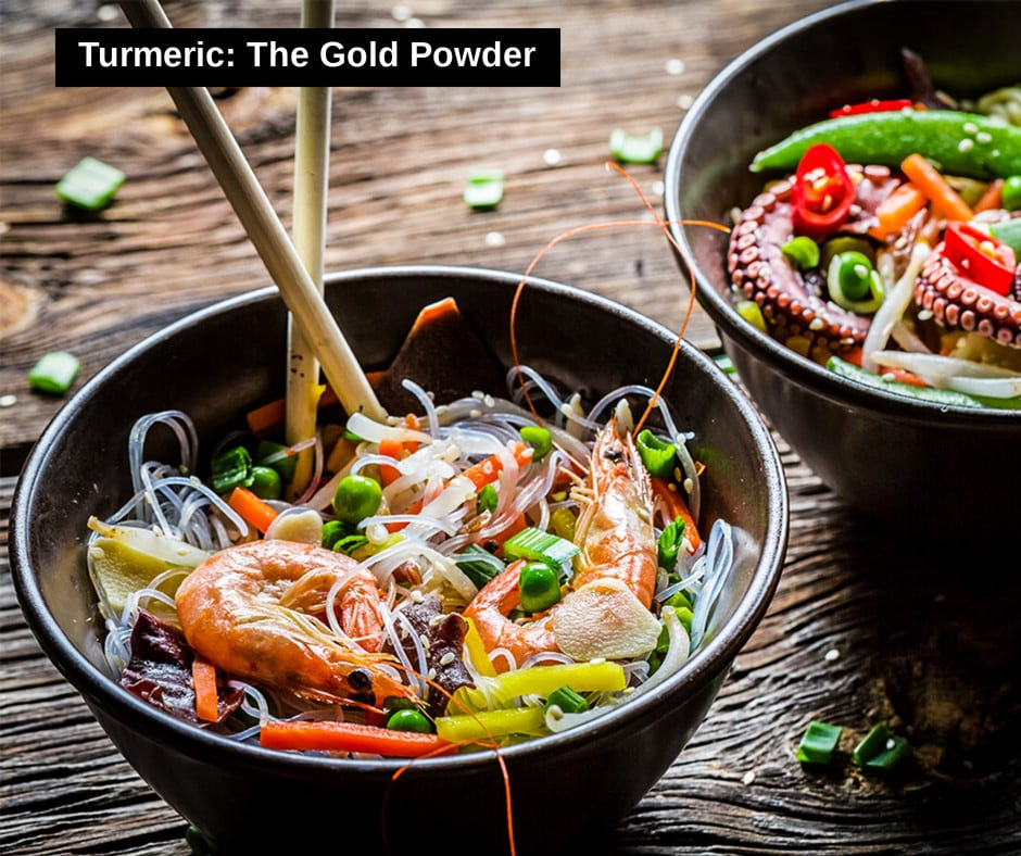 Turmeric - Gold Powder with Amazing Therapeutic Properties and Infinite Benefits