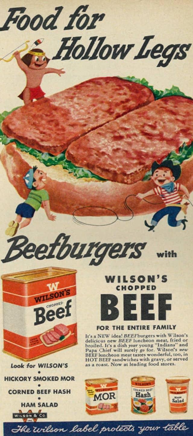 bizarre vintage food ads 1