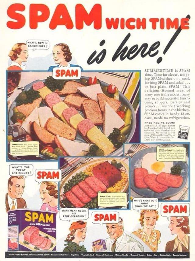 bizarre vintage food ads 27