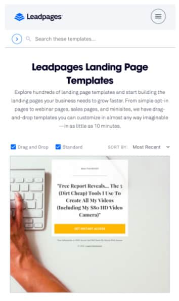 LeadPages, An opt-in funnel is a series of pages you set up, the goal of which is to obtain the email address of your potential buyer