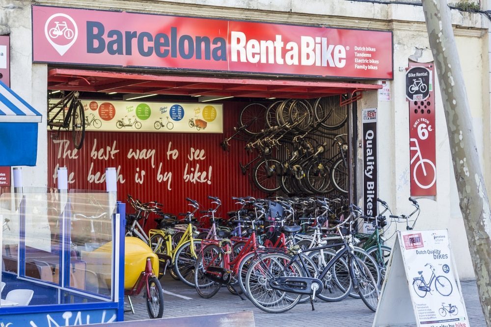 Biking In Barcelona