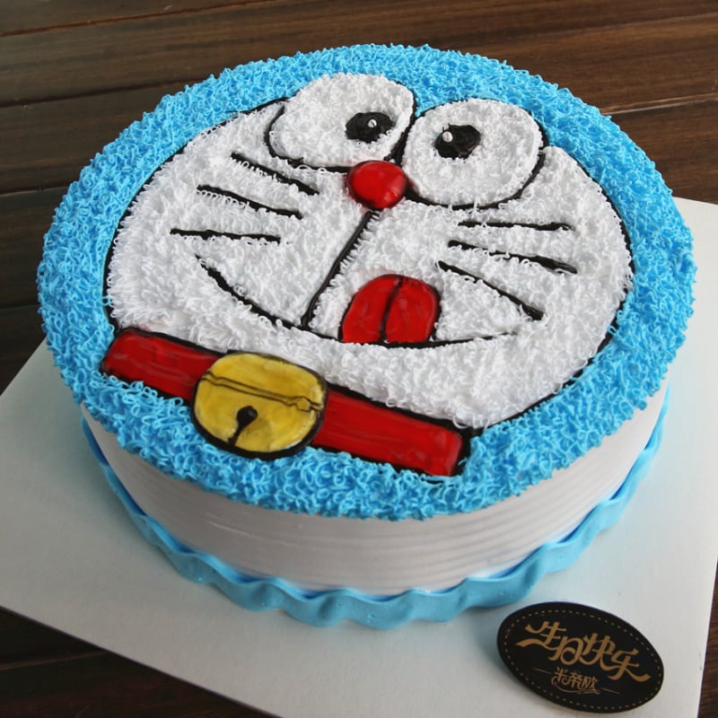 Doraemon cake for all the Nobita's fans