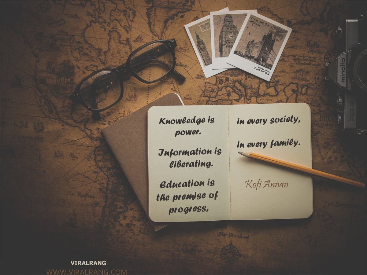 Education is the premise of progress - Family Quotes