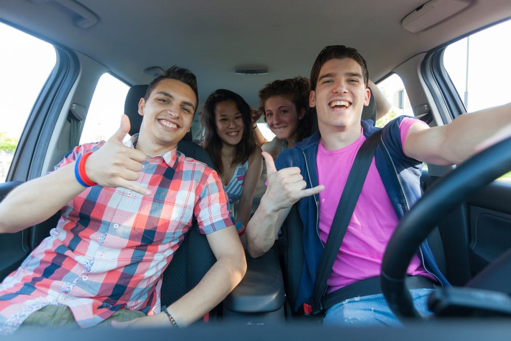 Tips for Letting Your Teen Drive When You're Visiting Texas