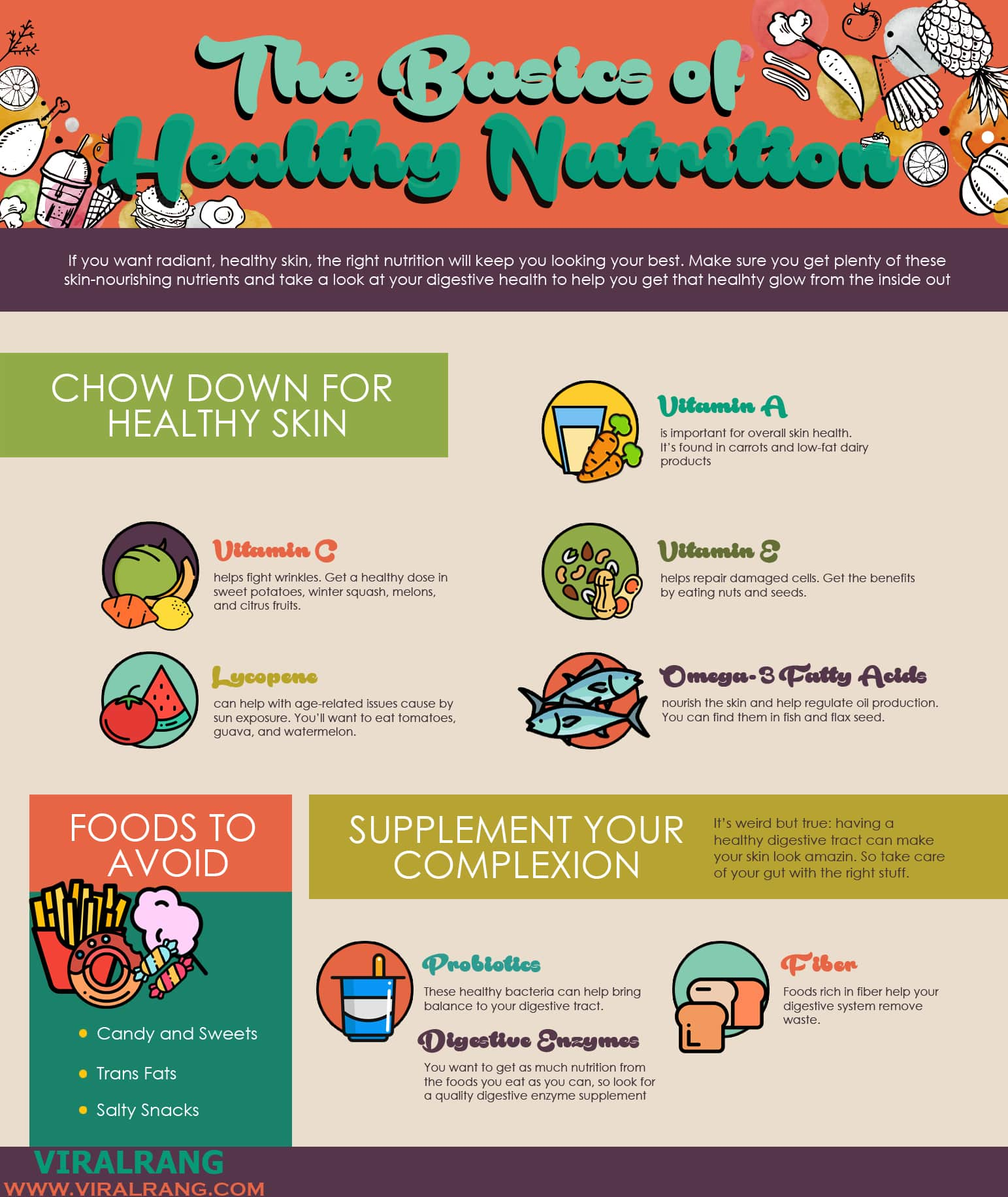 The Basics of Healthy NUtrition