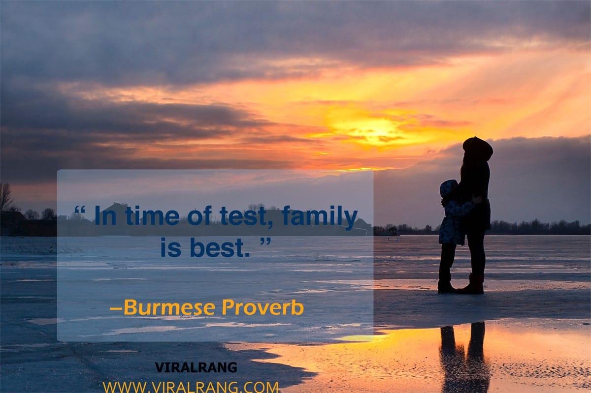 Family is best