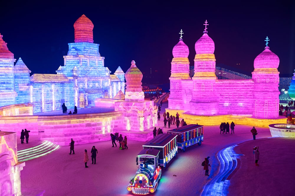 Harbin Ice Festival China