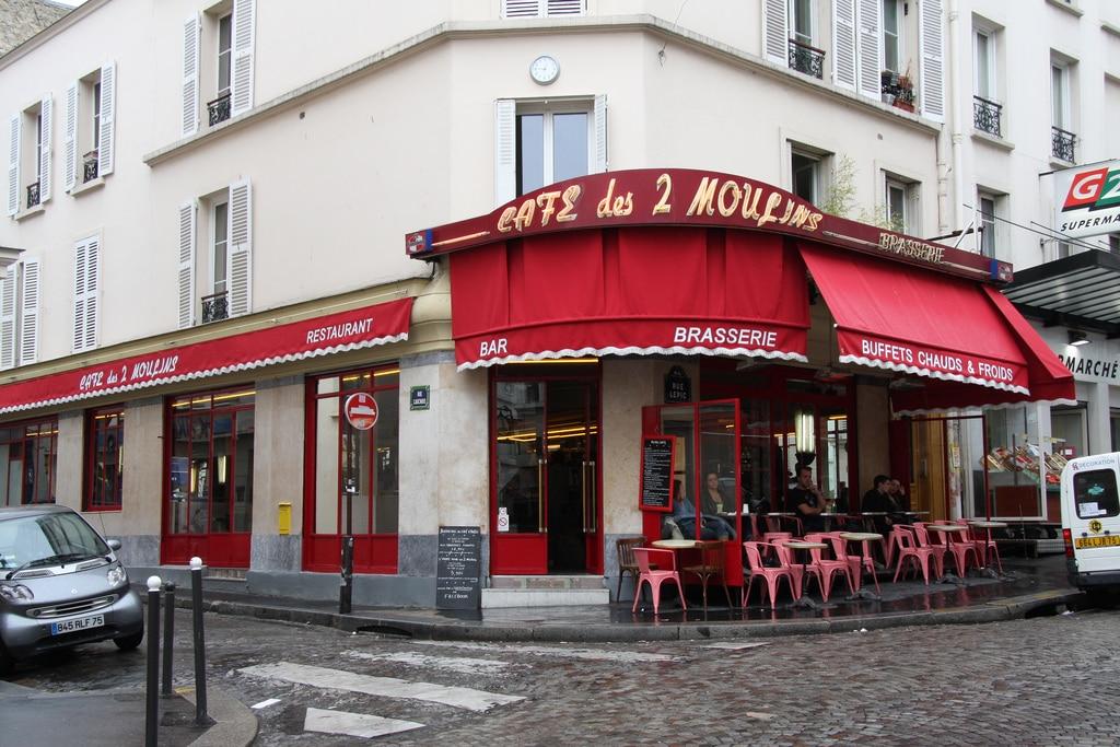 Le Café des Deux Moulins, Paris