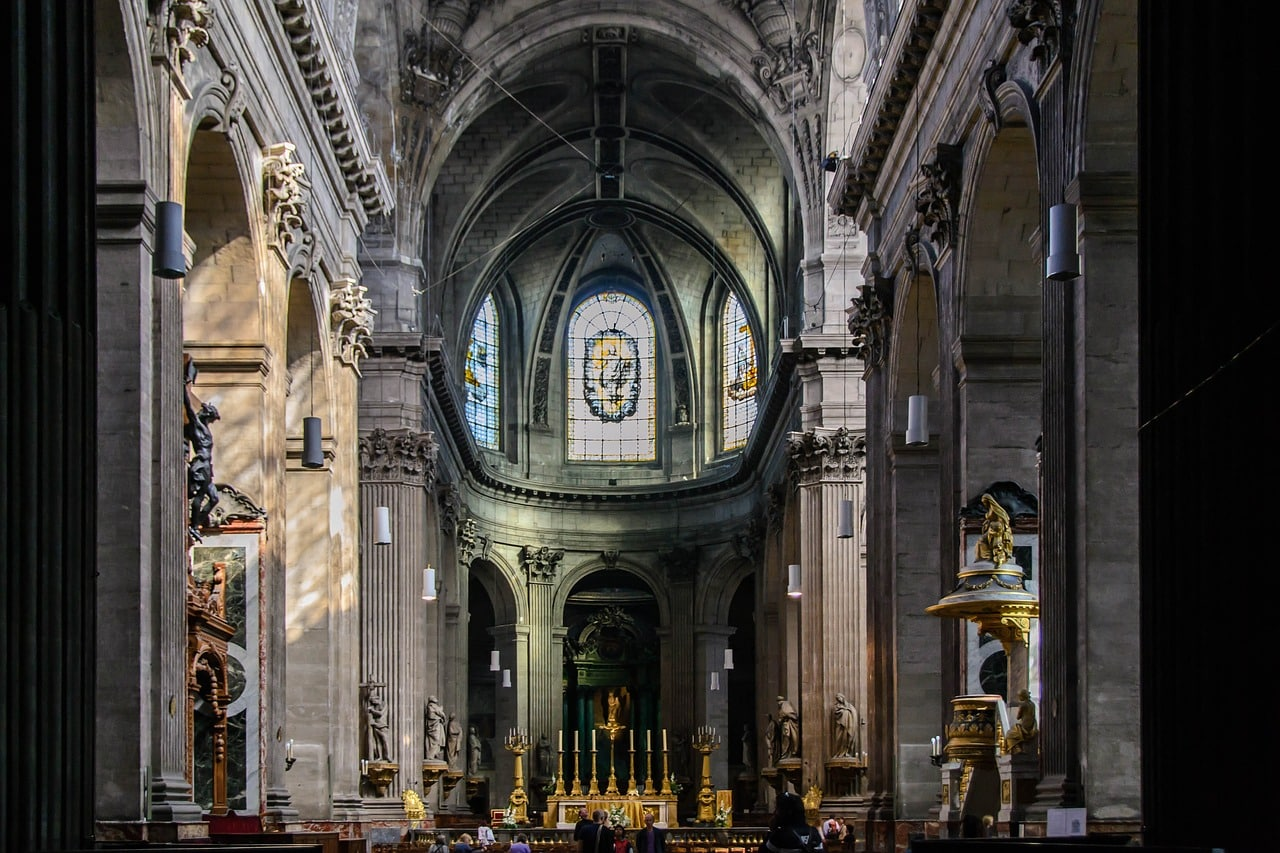 Saint-Sulpice Church, Paris