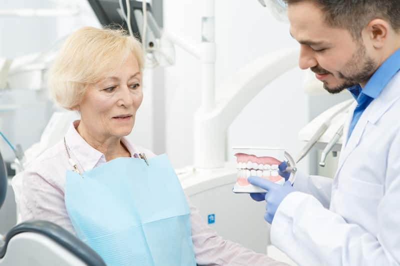 Search for a denture clinic