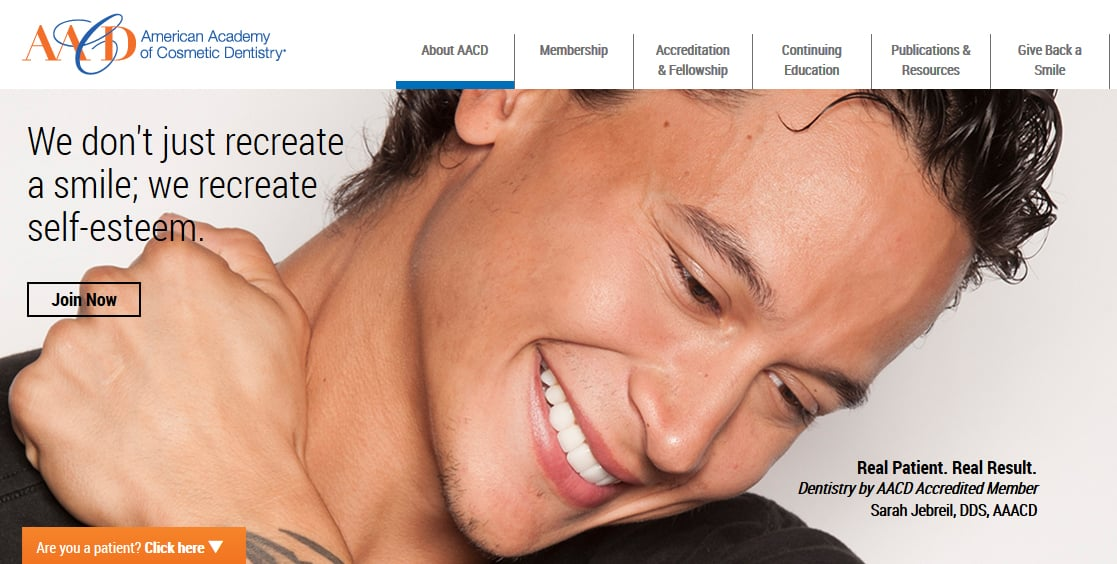 The American Academy of Cosmetic Dentistry (AACD)