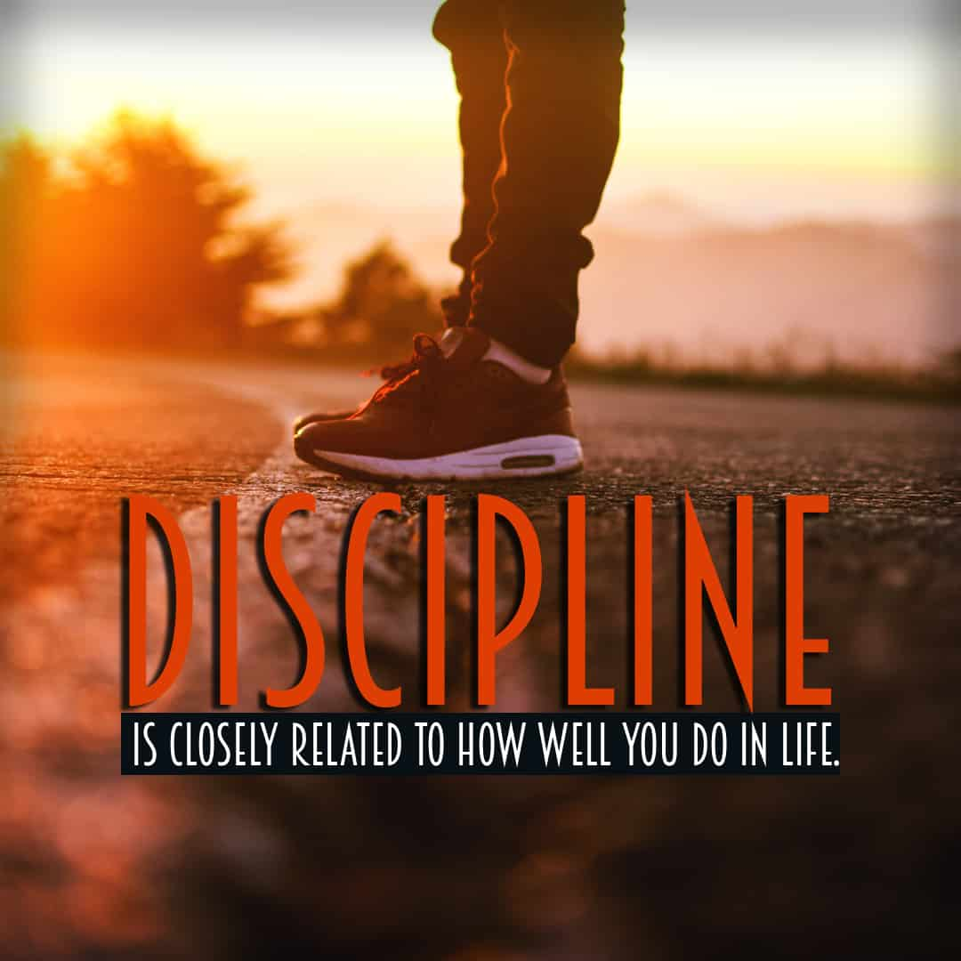 Discipline is Something YOU DO
