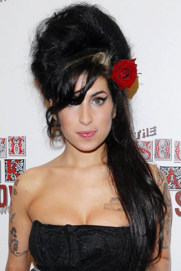 Amy Winehouse's hairstyle is a lot like her music