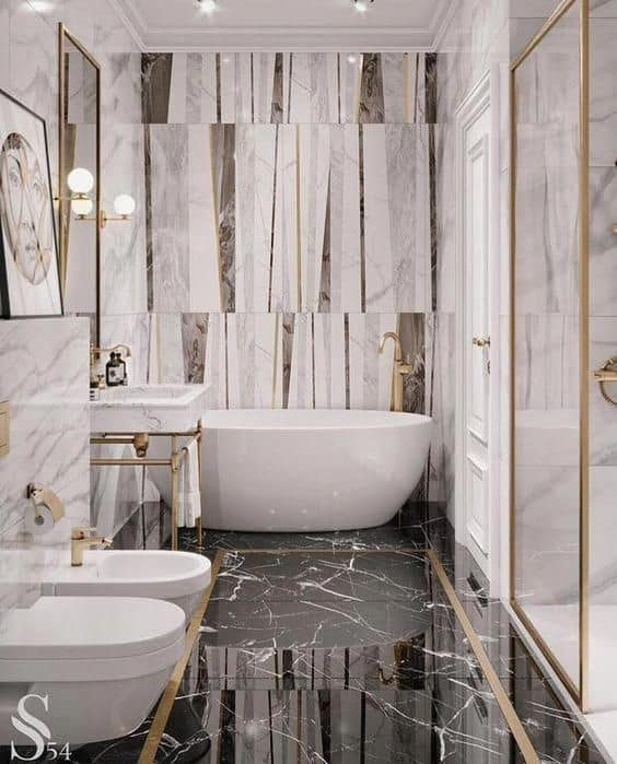 Creating a luxury bathroom is something many people dream of their homes
