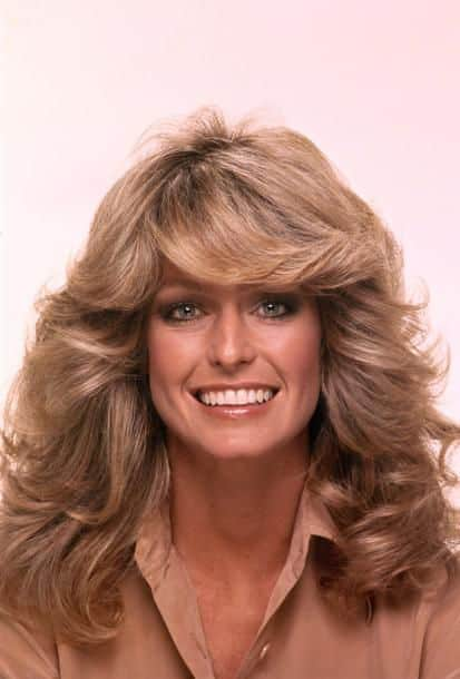 Farrah Fawcett is one of the most popular Hollywood stars in the 1970's