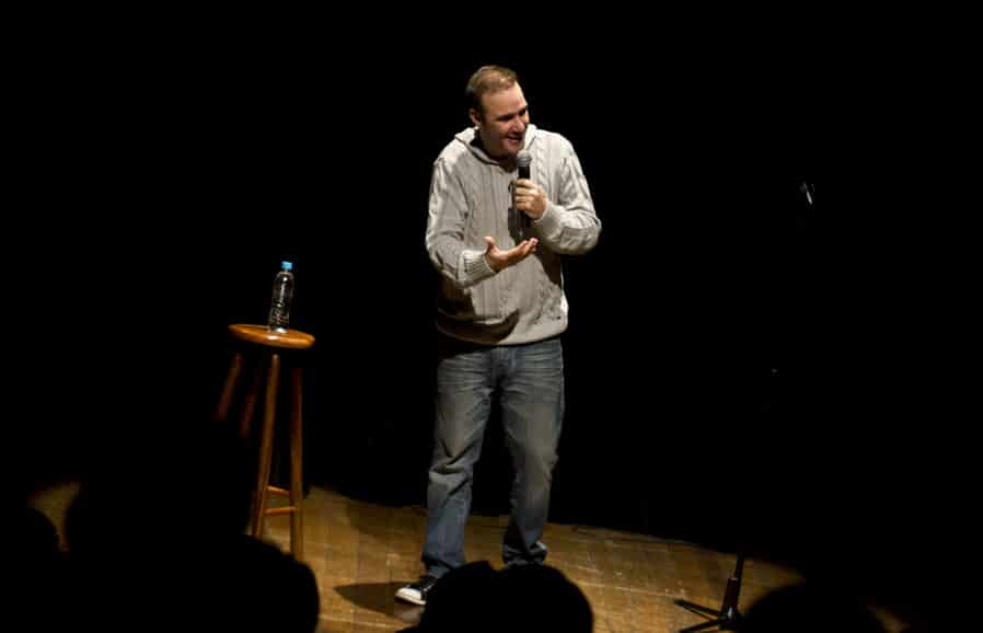 Visit a Stand-up Comedy Show