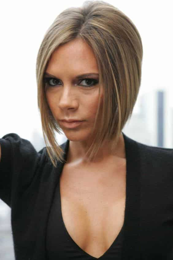 Although Victoria Beckham has worn numerous hairstyles throughout the years, none had as much impact as her iconic stacked bob