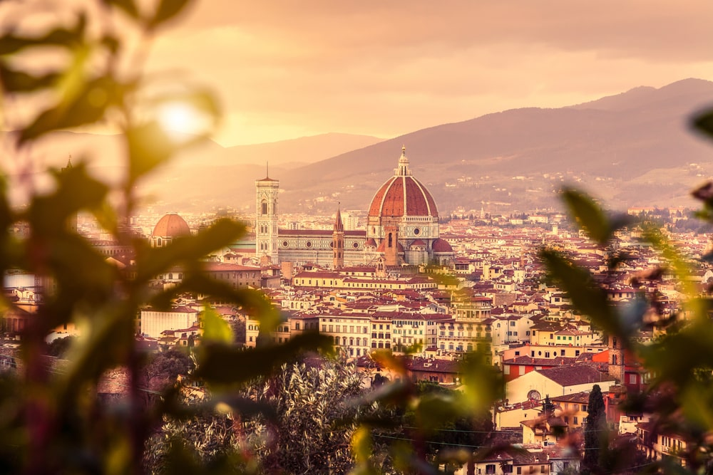 Watch the Sunset in Florence
