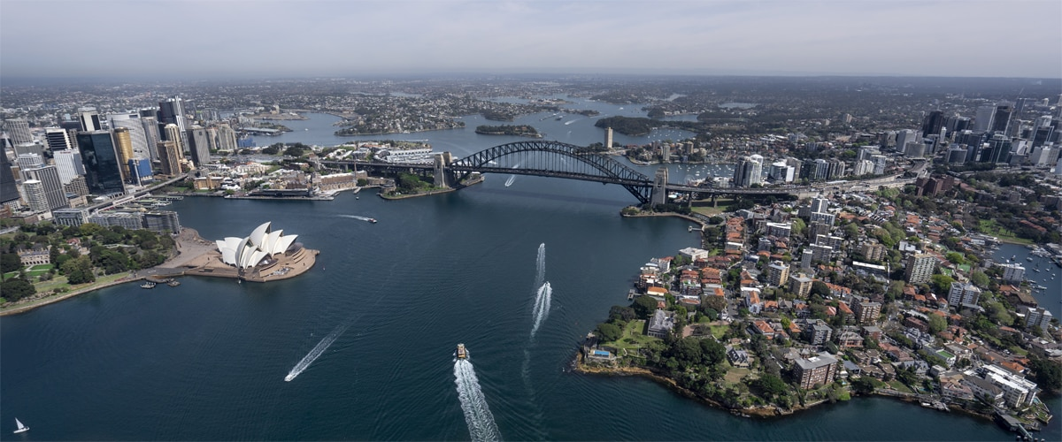 Sydney Harbor, Satisfy your need for speed