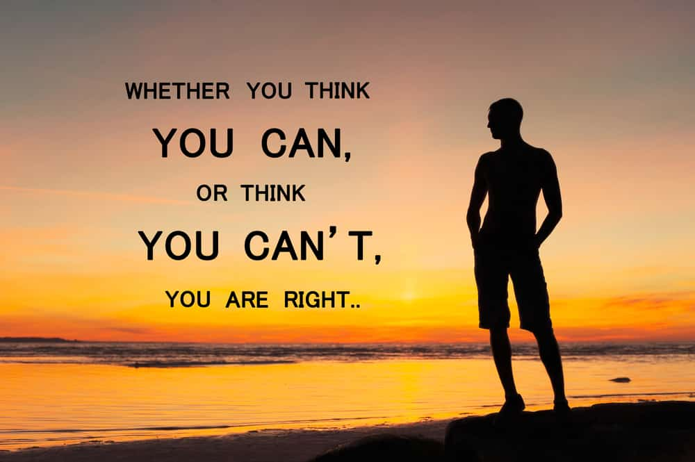 whether you think you are righy, affirmations