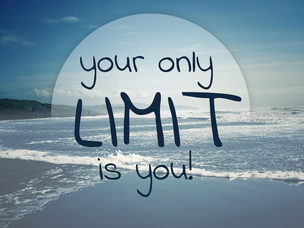 Affirmations for Attracting Happiness, your only limit is you