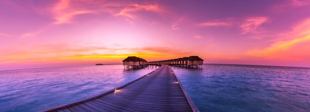 Maldives scenic views