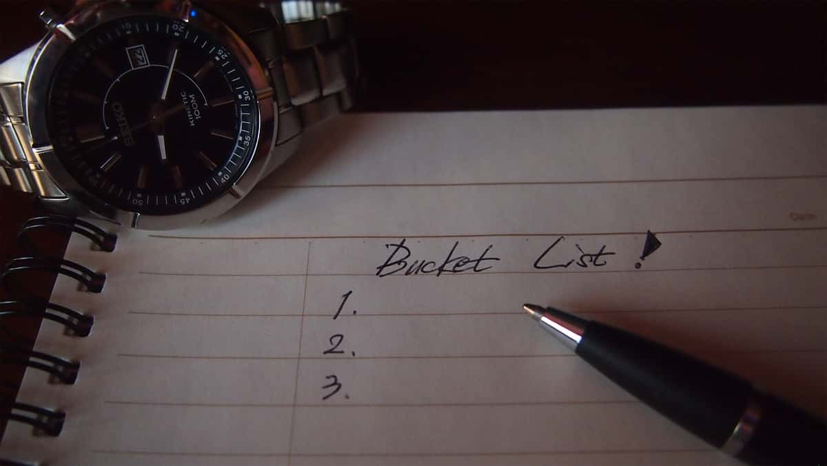 Create a Bucket List