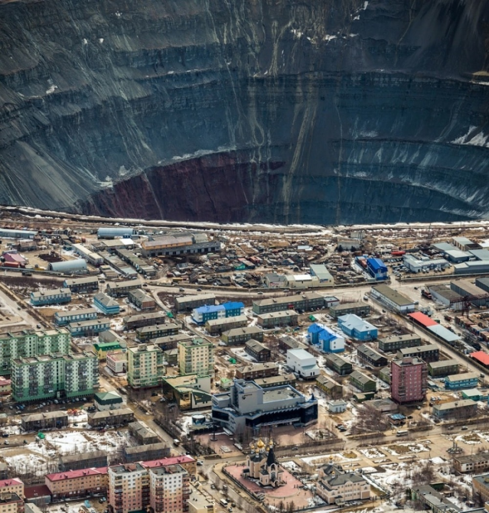 Diamond Mines in Russia