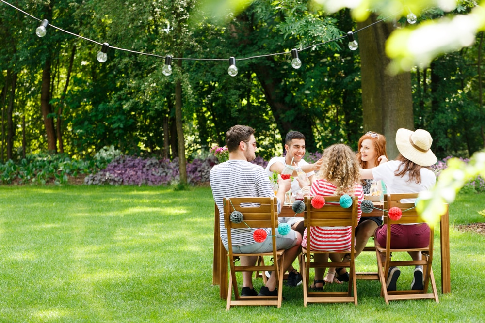 Garden Party Ready. 4 Ways to Ensure Your Garden is Fit for Guests