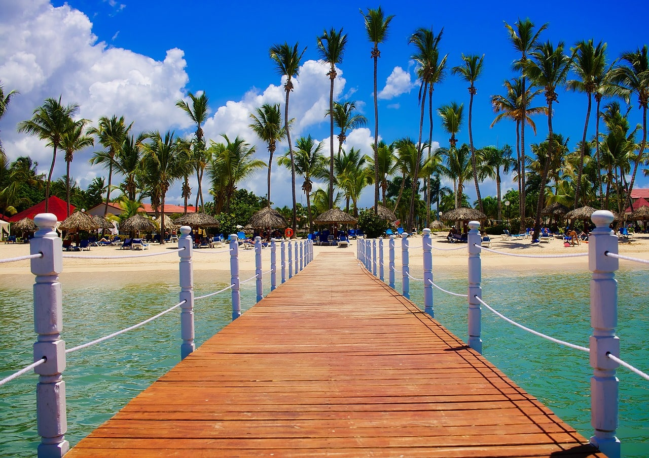 3.	Experience tropical paradise in the Dominican Republic