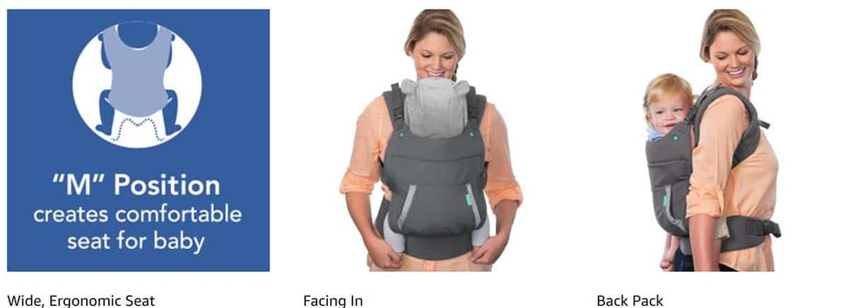 Kangaroo Baby Travel Carrier