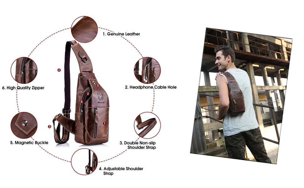 Modern Cross-Chest Bag