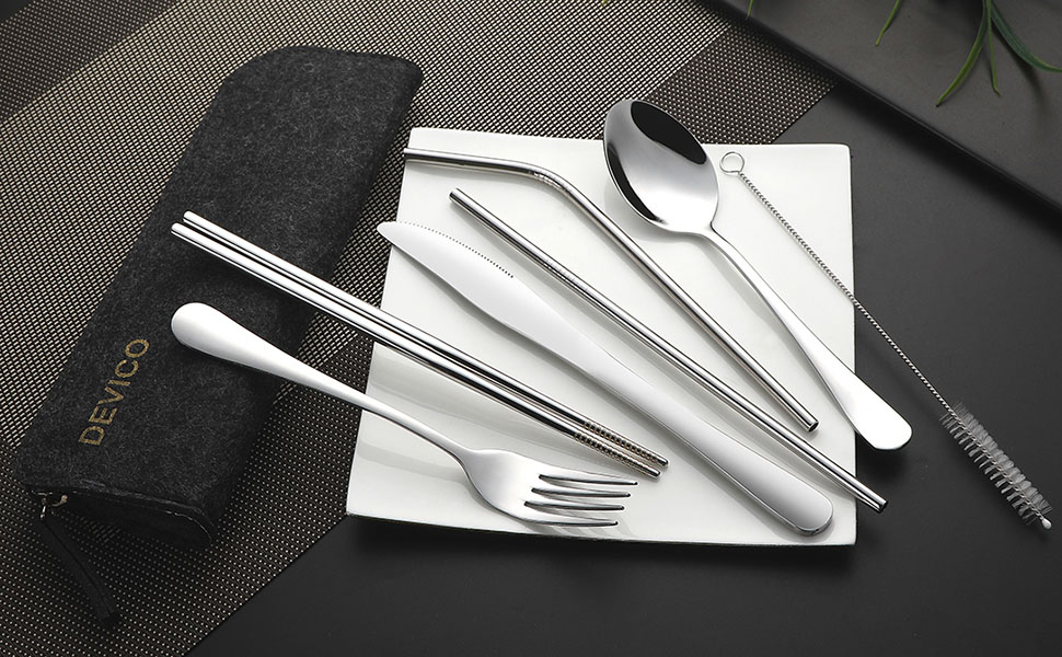 Travel Dinnerware Set