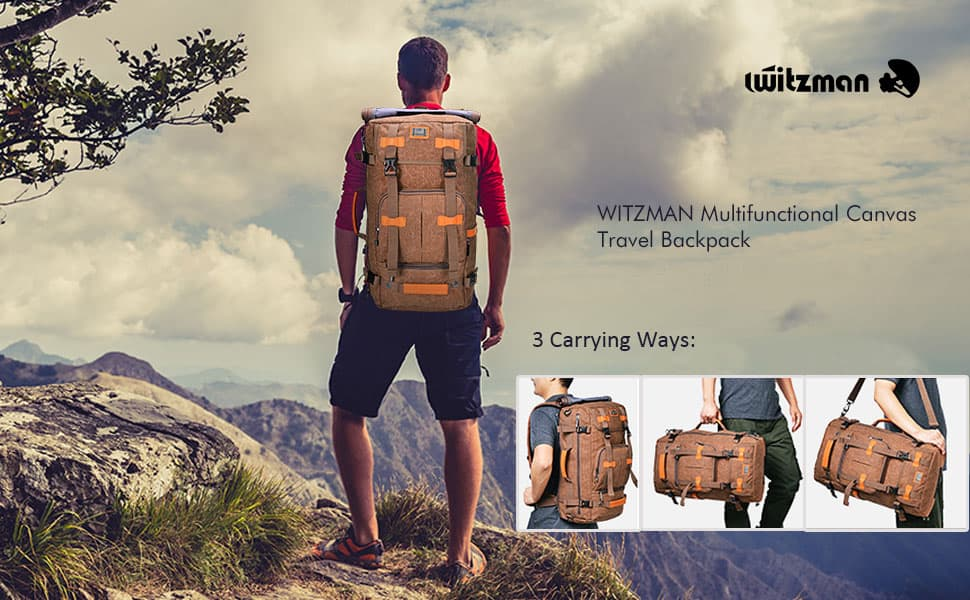 Multi-Function Travel Backpack Vintage Travel Backpack
