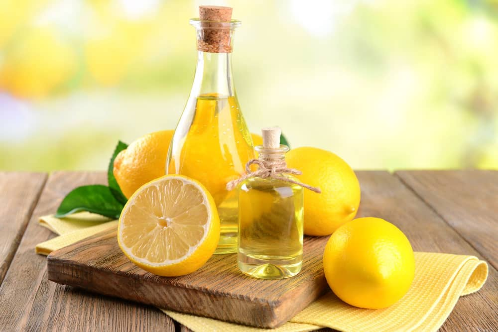 Lemon oil is a great antibacterial and anti-fungal oil. If you are coming down with a cold, rub it in the palms of your hands and inhale. You can even add several drops to your load of laundry to help disinfect it.