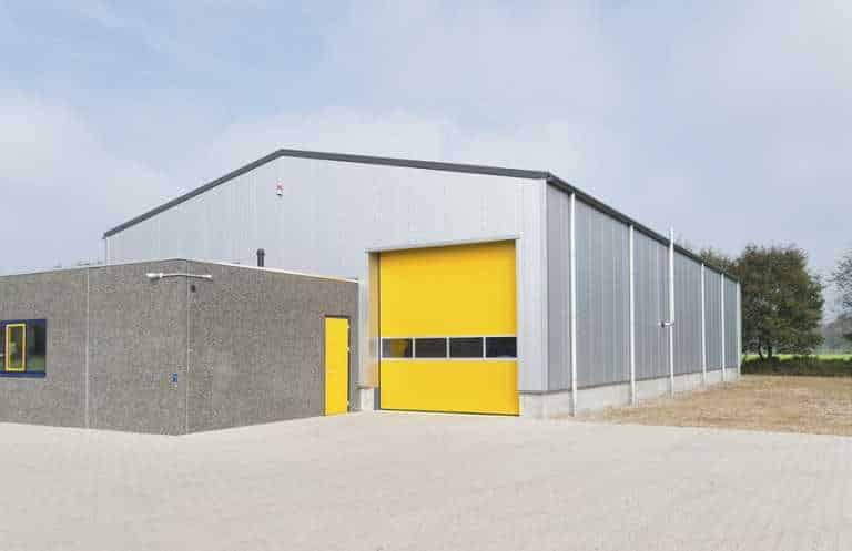 Pre-Engineered Industrial Shed