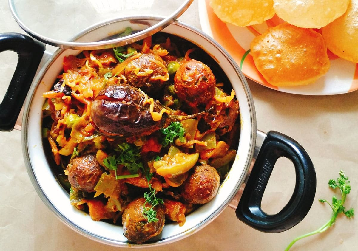 Regional Gujarati Mixed Vegetable