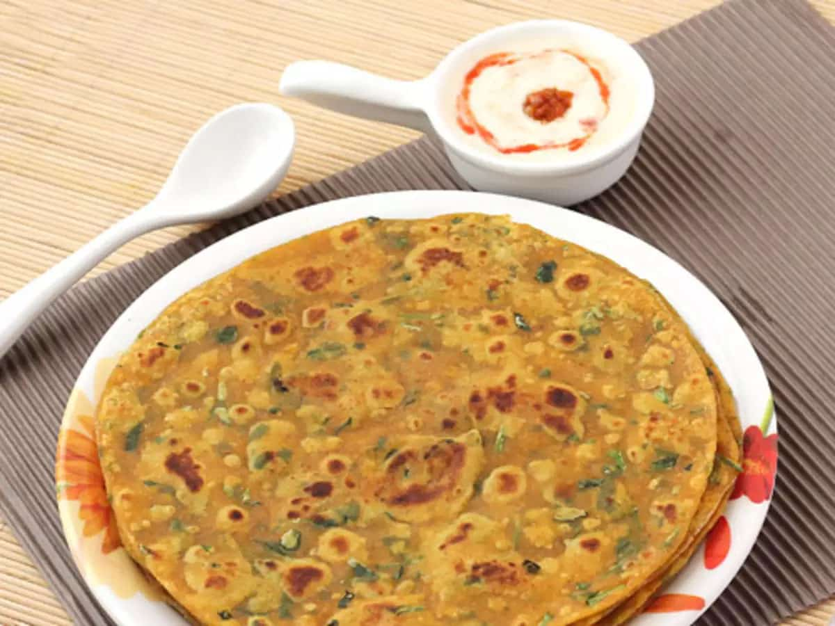 Sumptuous Breakfast of Methi Thepla
