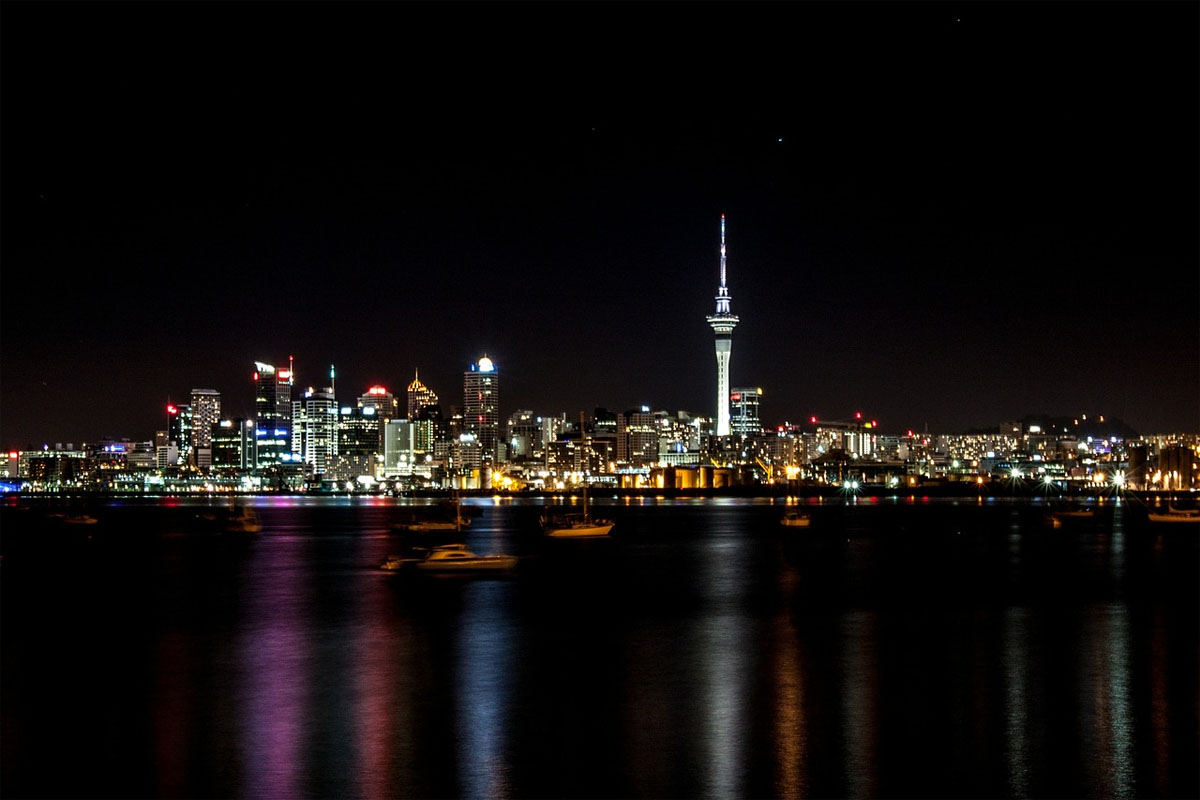 Enjoy the urban life in Auckland