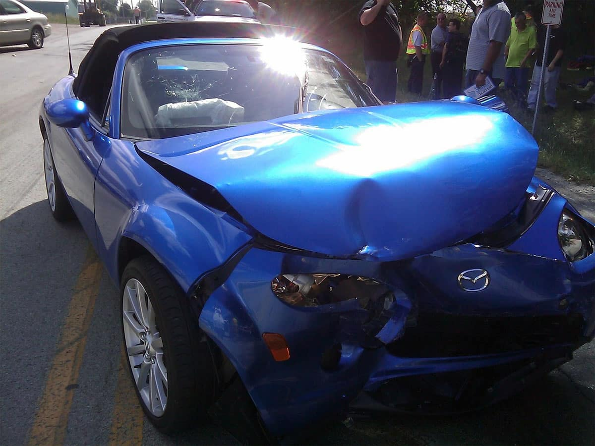 Front and rear bumper Damaged in Accidents