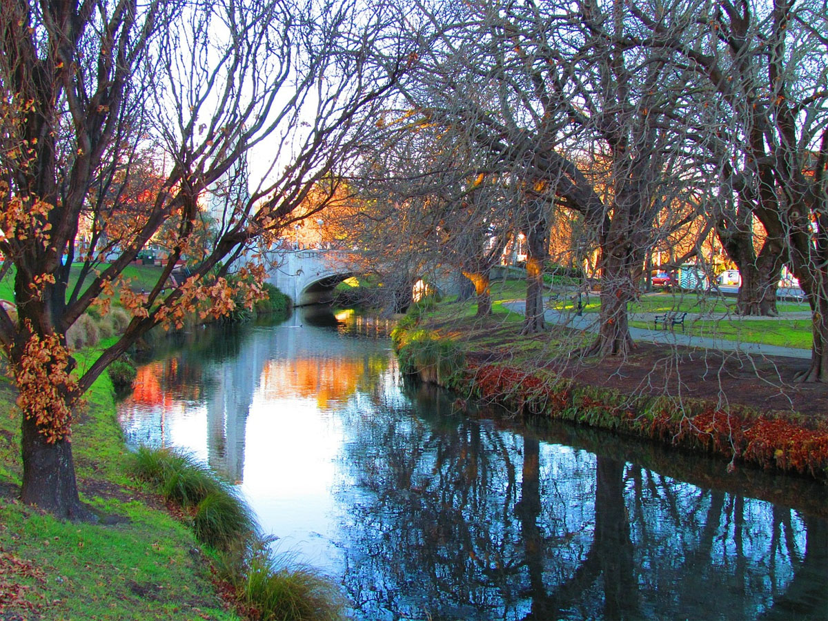 Experience the beauty of Christchurch