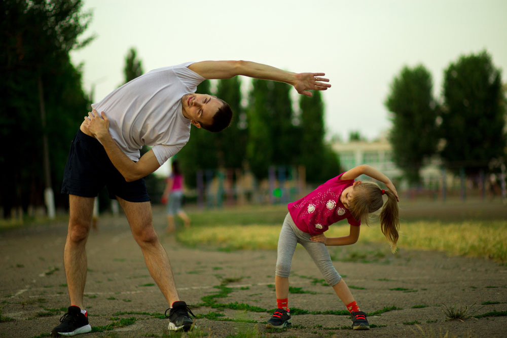 Get Outside and Play With children