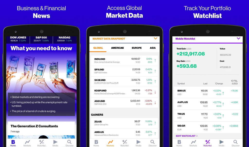 Bloomberg Business Mobile App